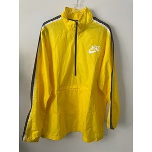 Nike Yellow Pullover Jacket